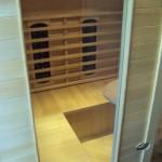 Den infrarøde sauna